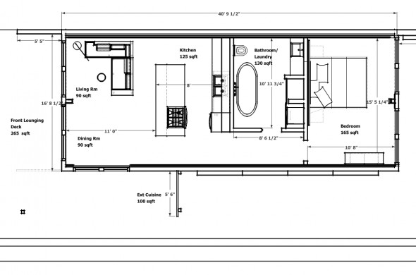 Modern Cottage Shipping Container House Designs Containerhome