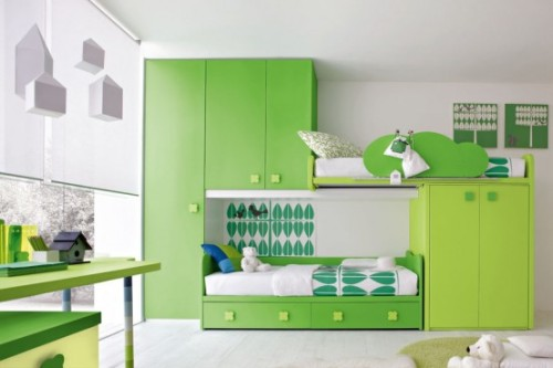 Modern Green Bedroom Stemik Living Contemporary