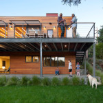 Modern Green Home Mill Valley Contemporary Exterior San
