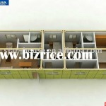 Modified Shipping Container House China Prefab Houses For Sale