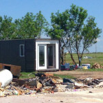 Mods International Donates Shipping Container Home Oklahoma
