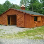 Modular Double Wide Horse Barn Good For Since Cute Critte