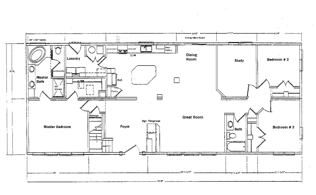 Modular Home Floor Plans From Meridian Manufactured And