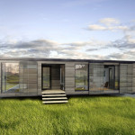 Modular Home Glass House Energy Efficient