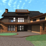 Modular Home Southwest View Contemporary Custom Southeast