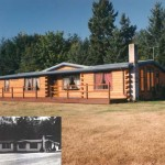 Modulog Log Siding Manufactured Home