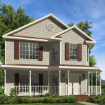 Monroe Two Story Style Modular Homes