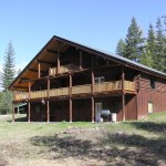 Montana Custom Log Home Acres