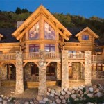 Montana Log Homes Mlh Loghome