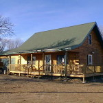 Moore Home Kuhns Bros Log Homes Vernon Model Constructed