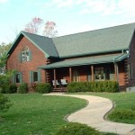 Morgan Ohio Log Home Scenic Acreage Available For Sale
