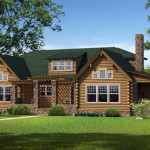 Morris Log Home Cabin Plans Southland Homes