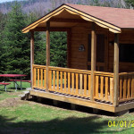 Mountain Lake Campground Park Log Cabins Campsite Information