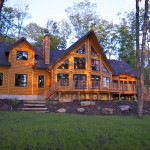 Much Does Timber Block Log Home Cost Cabin Timberblock