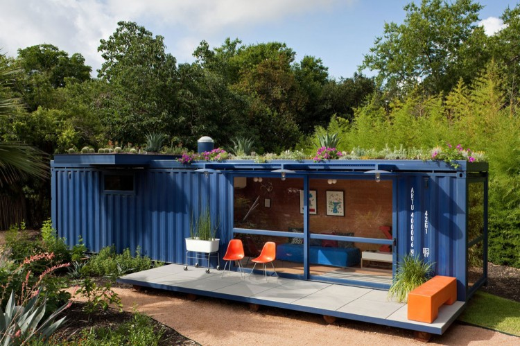 Nature The Picture Below Example Shipping Container Home