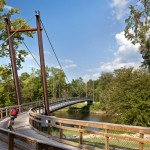 Neuse River Greenway Trail Suspension Bridges Raleigh