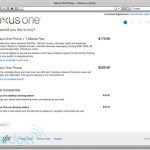 Nexus One Pricing Plans Mobile Contract And Lot More Leaked