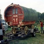 Nice Bow Top Being Transported Seen Mark Hudson