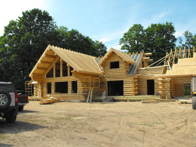Notice The Log Home Kit Does Not Include Roof System Unless