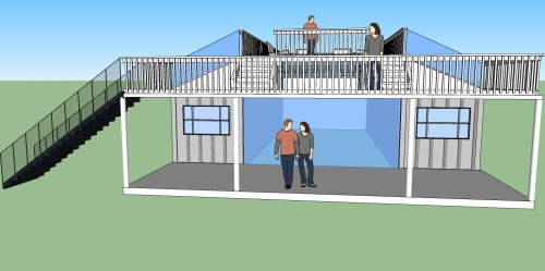 Off Grid Living Shipping Container Home Plans