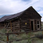Old Log Cabins Wyoming South Pass City Ghost Towns Ameri