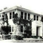 Old Texas Highway Dept Main Office Remember The Fish Pond