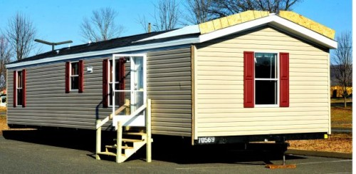 One Mobile Homes That Are Being Brought Faith Church New