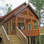 Oreilles Newly Built Log Lake Home For Sale Hayward Wisconsin