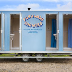 Outdoor Events Posh Wash Showers Gas Powered Mobile Shower Units