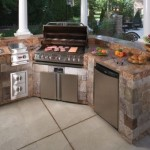 Outdoor Kitchen Precast Concrete Modular