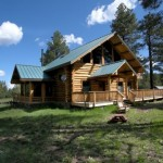 Owner May Carry Financing Bedroom Historic Custom Log Home For Sale