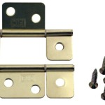 Pair Interior Door Hinges For Mobile Home Manufactured Housing