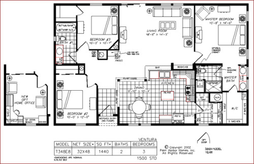 Palm Harbor Manufactured Home Floorplan Florida