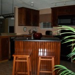 Paper Redo This Kitchen Our Mobile Home The Cabinets