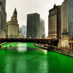 Pavan Mickey Chicago River Turns Green For Patrick Day