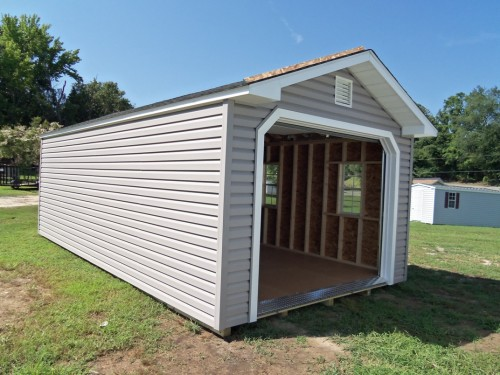 Peak Style Prefab Garage Shed Saver