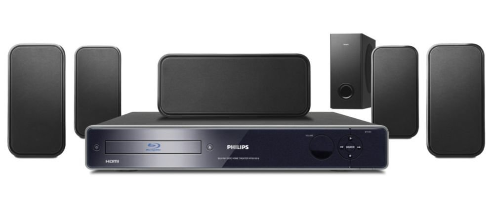 Philips Hts Blu Ray Channel Home Theater System