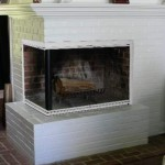 Pictures Fireplaces Glass Doors Before And After