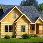 Piedmont Log Home Cabin Plans Southland Homes