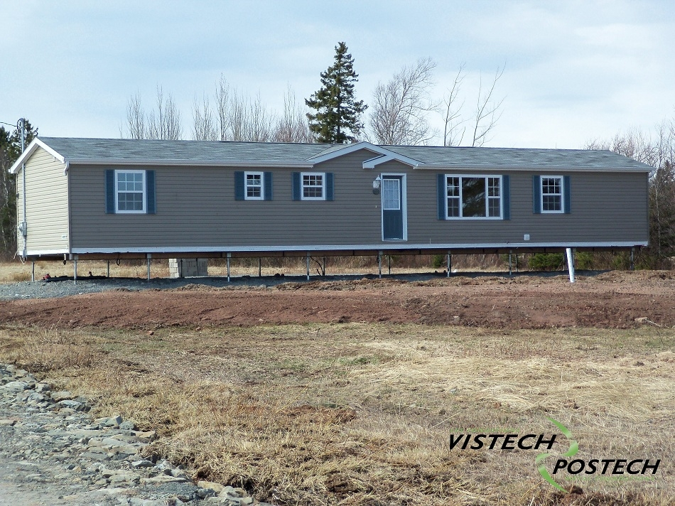 Piles Are The Ideal Solution When Installing Mobile Home Foundations