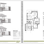 Plan Layed Out Seperate Page Simple Floor Plans