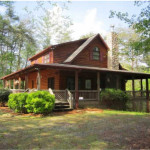 Points Ridge Cherry Log Home For Sale