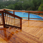 Pool Decks Build From Scratch Buy Prefab Patio Deck Designs Idea