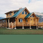 Preassembled Log Homes And Cabins Homestead