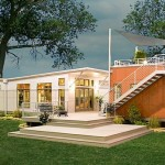 Prebuilt Green Modular Home Modern Prefab Homes