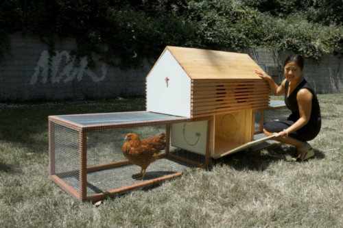 Prefab Coop For Design Savvy Chickens Moop Modular Chicken