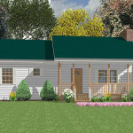 Prefab Cottages Barton Green Panel Building Systems Inc