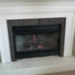 Prefab Fireplace Installed