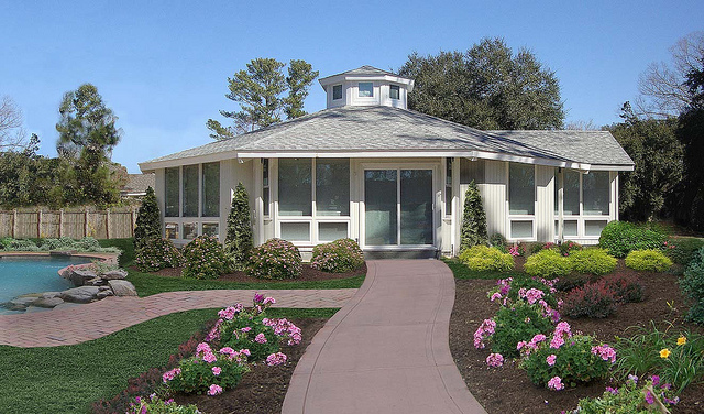 Prefab Guest Homes Law Suites Pool Houses Flickr