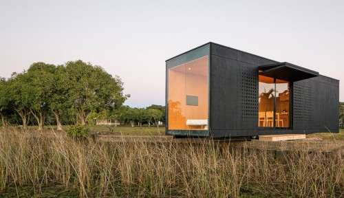 Prefab House Mini Modern Fubiz